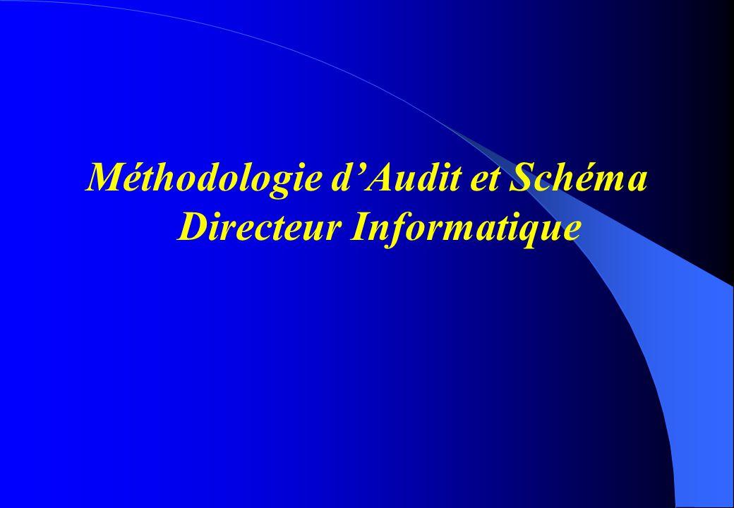 Méthodologie d'Audit et Schéma Directeur Informatique