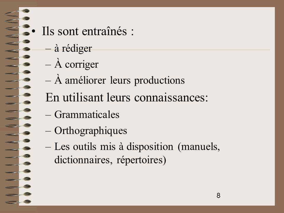 19 Des jeux d'écriture Carré lescurien Ni sur, ni sous: pas de lettres à hampe ni à jambage Oulipo: transformer une phrase en substituant à chaque nom sa définition.
