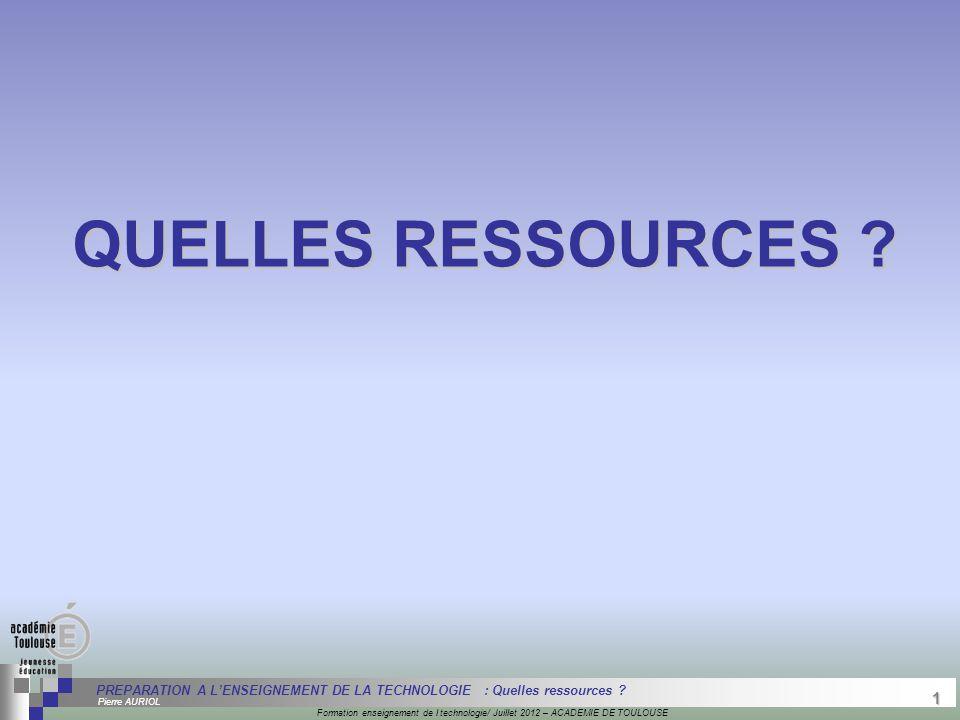 1 Séminaire « Définition de Produits » : méthodologie de définition d'une pièce GREC INITIALES Formation enseignement de l technologie/ Juillet 2012 –