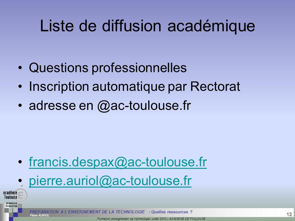 12 Séminaire « Définition de Produits » : méthodologie de définition d'une pièce GREC INITIALES Formation enseignement de l technologie/ Juillet 2012