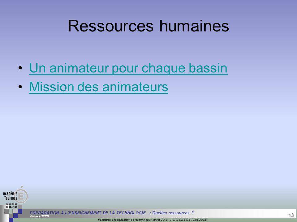 13 Séminaire « Définition de Produits » : méthodologie de définition d'une pièce GREC INITIALES Formation enseignement de l technologie/ Juillet 2012