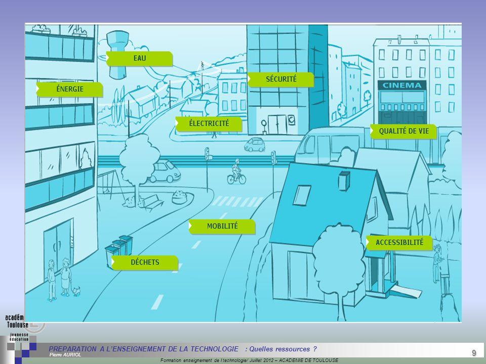 9 Séminaire « Définition de Produits » : méthodologie de définition d'une pièce GREC INITIALES Formation enseignement de l technologie/ Juillet 2012 –