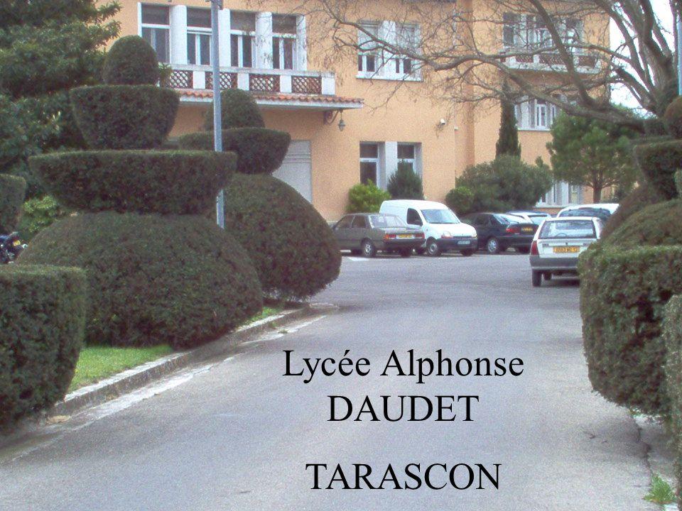 Lycée Alphonse DAUDET TARASCON