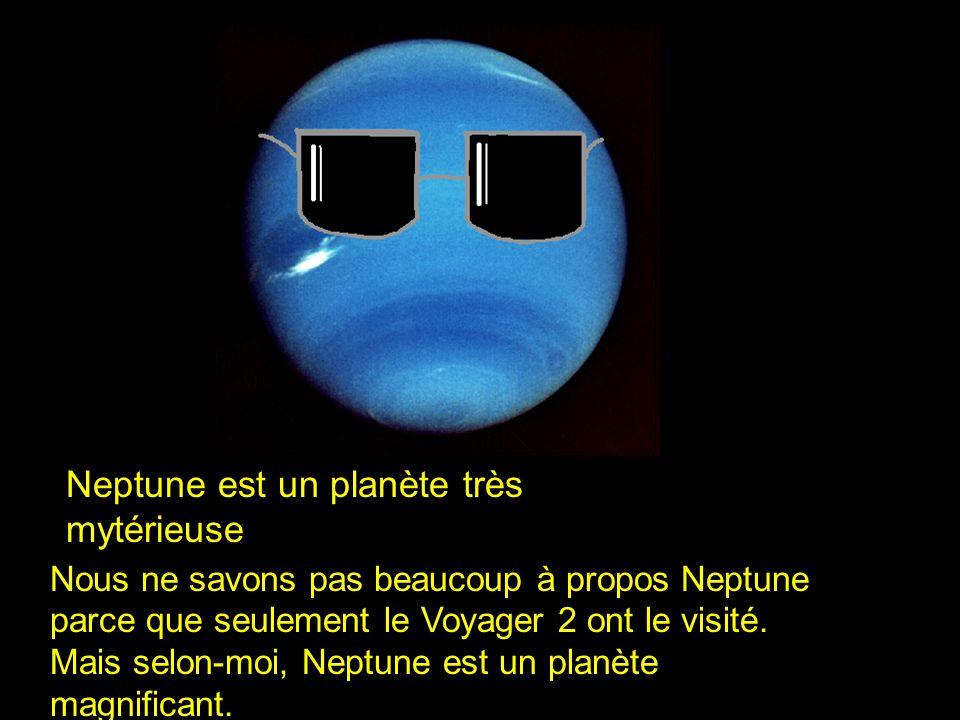 Un jour sur Neptune est 16 heures Neptune orbite le soleil chaque 165 années