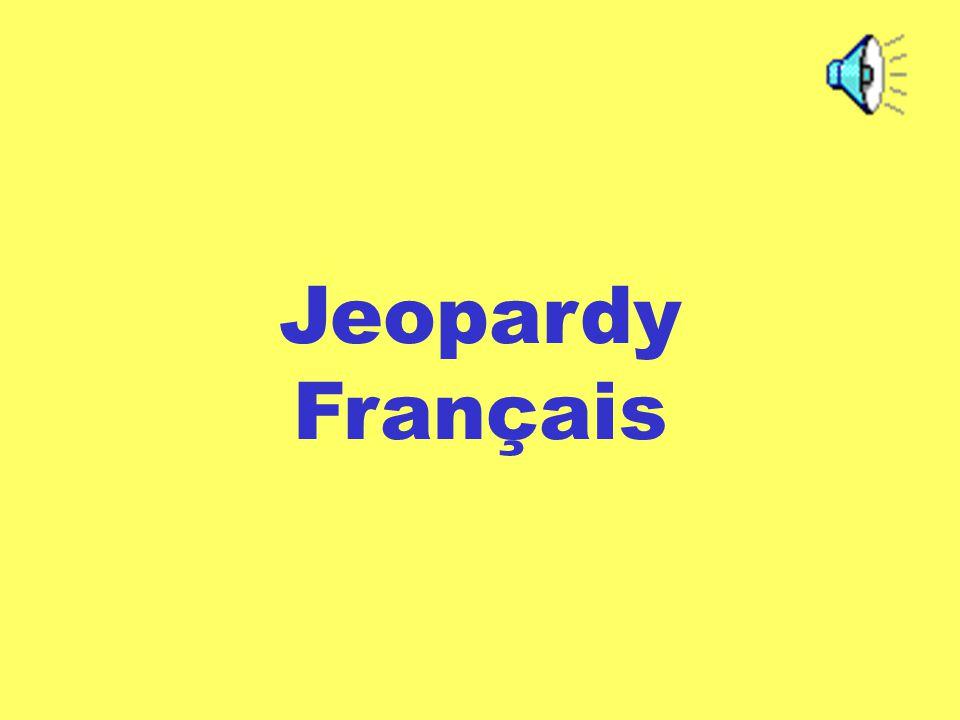 Jeopardy Français