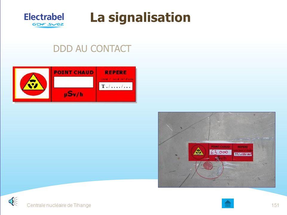 150 La signalisation DDD ambiance/contact