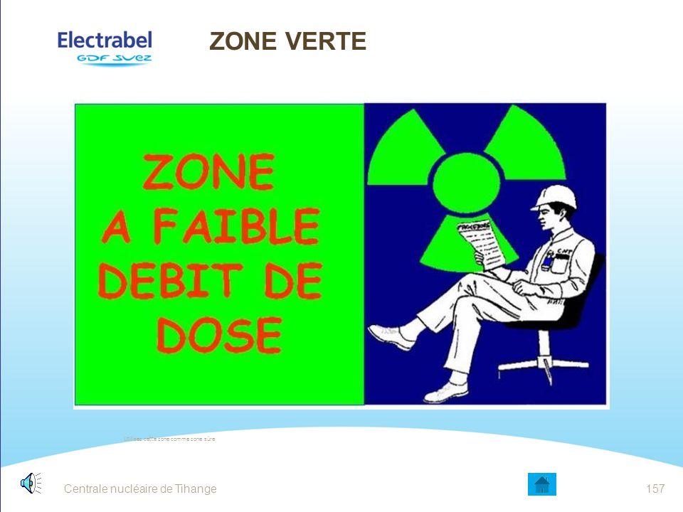Centrale nucléaire de Tihange156 DOSIMETRIE VOIR AGENT SRP Film badge