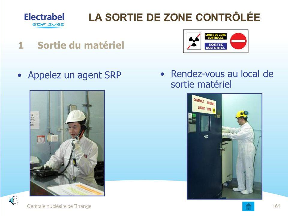 Moyens de protections contre la contamination surfacique Gants nitrile Surbottes Spacelle Flexothane 160Centrale nucléaire de Tihange