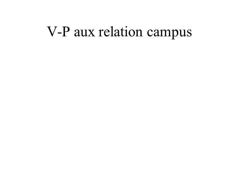V-P aux relation campus