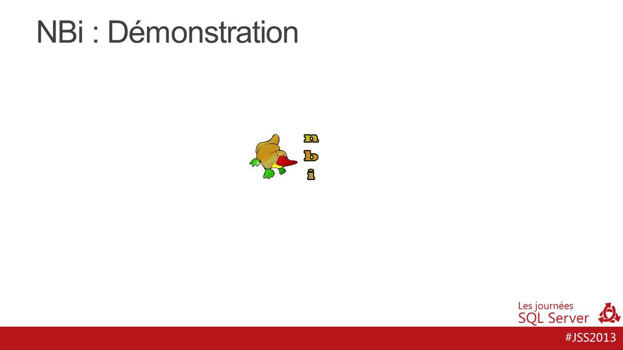 #JSS2013 NBi : Démonstration