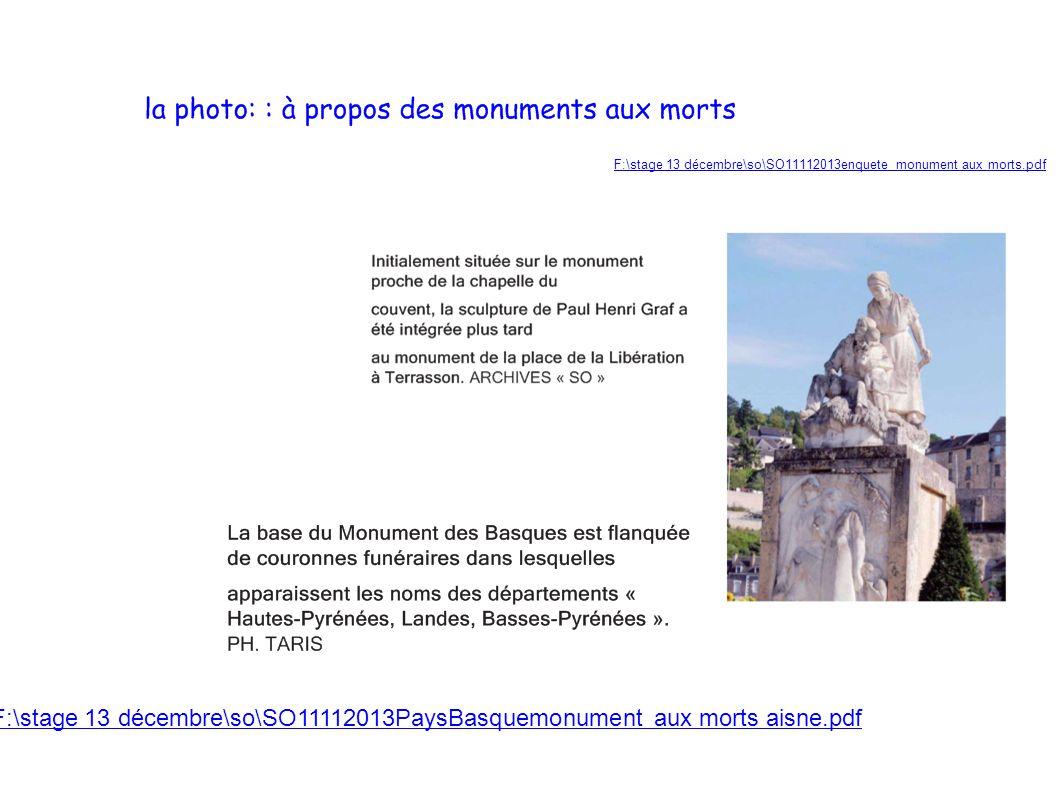 F:\stage 13 décembre\so\SO11112013enquete monument aux morts.pdf F:\stage 13 décembre\so\SO11112013PaysBasquemonument aux morts aisne.pdf