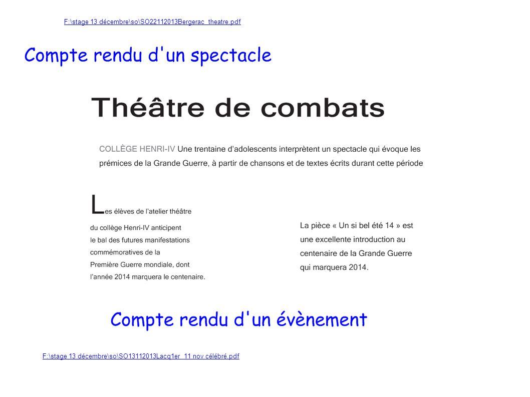 F:\stage 13 décembre\so\SO22112013Bergerac theatre.pdf F:\stage 13 décembre\so\SO13112013Lacq1er 11 nov célébré.pdf