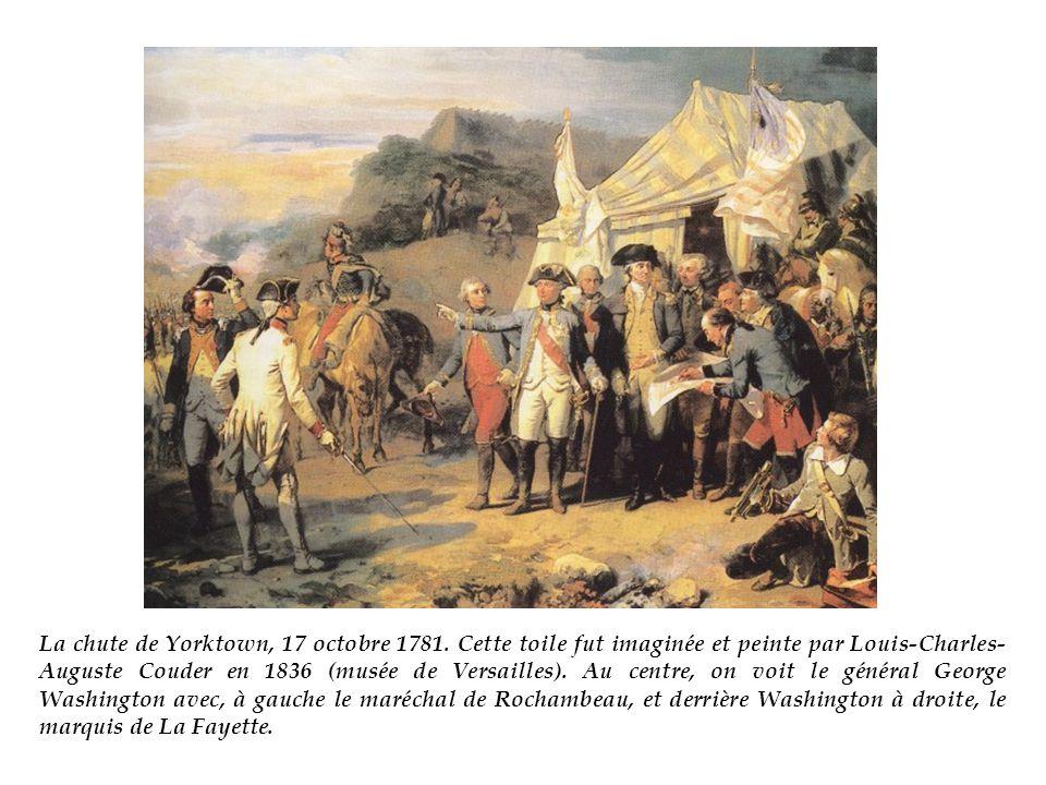 La chute de Yorktown, 17 octobre 1781.