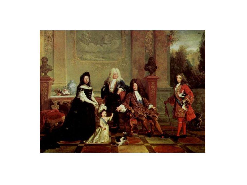 De sa femme, Marie-Thérèse d Autriche, le roi a six enfants (3 filles et 3 garçons) dont un seul survécut à l enfance.