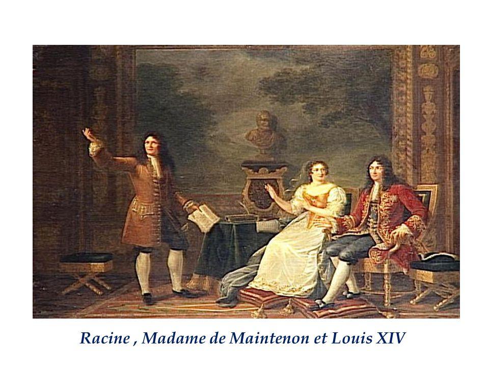 En 1683, après le décès de la Reine, Louis XIV épouse en secret Madame de Maintenon.