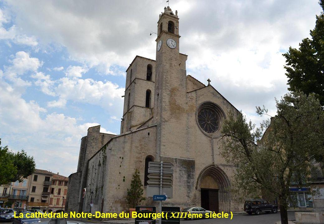 La cathédrale Notre-Dame du Bourget ( XIII ème siècle )