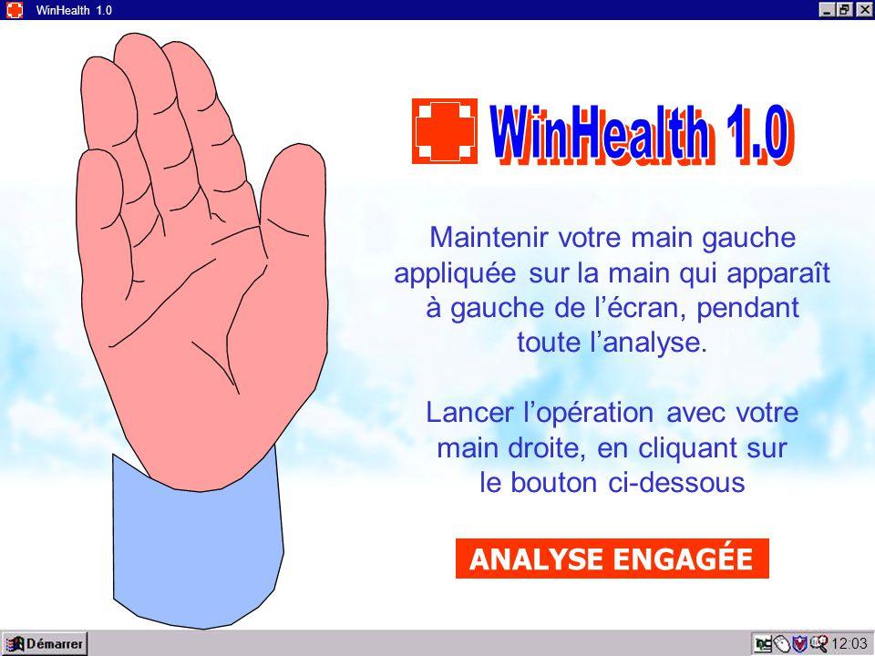 12:05 WinHealth 1.0 WinHealth 1.0 est un programme de nouvelle génération, destiné à aider les services médicaux en cas d'urgence.