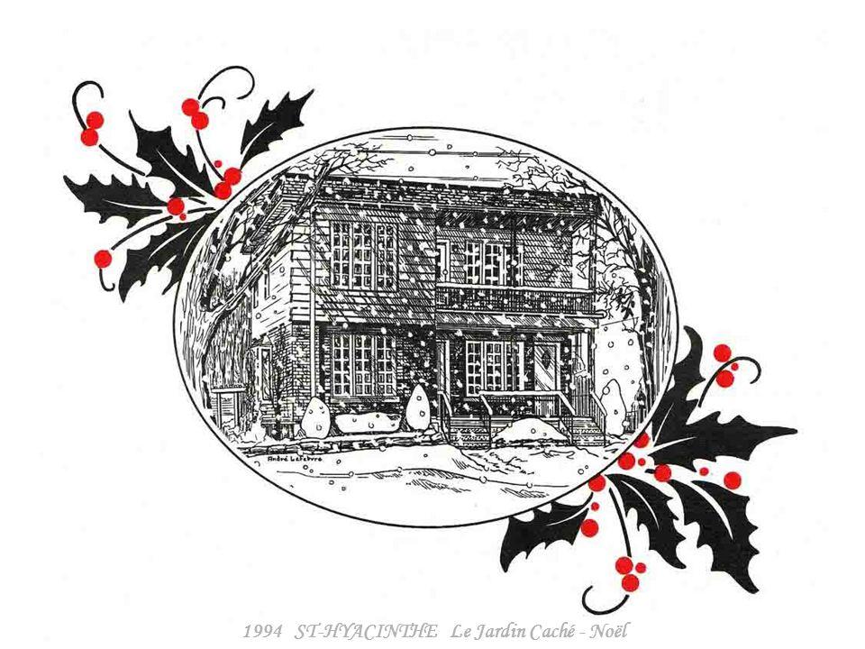 1994 ST-HYACINTHE Le Jardin Caché - hiver