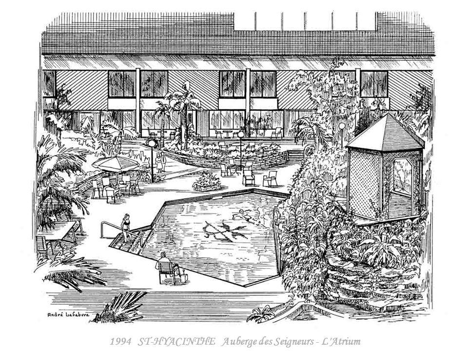 1994 ST-HYACINTHE Auberge des Seigneurs - Centre des Congrès
