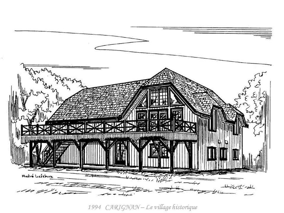 1994 CARIGNAN – Le village historique
