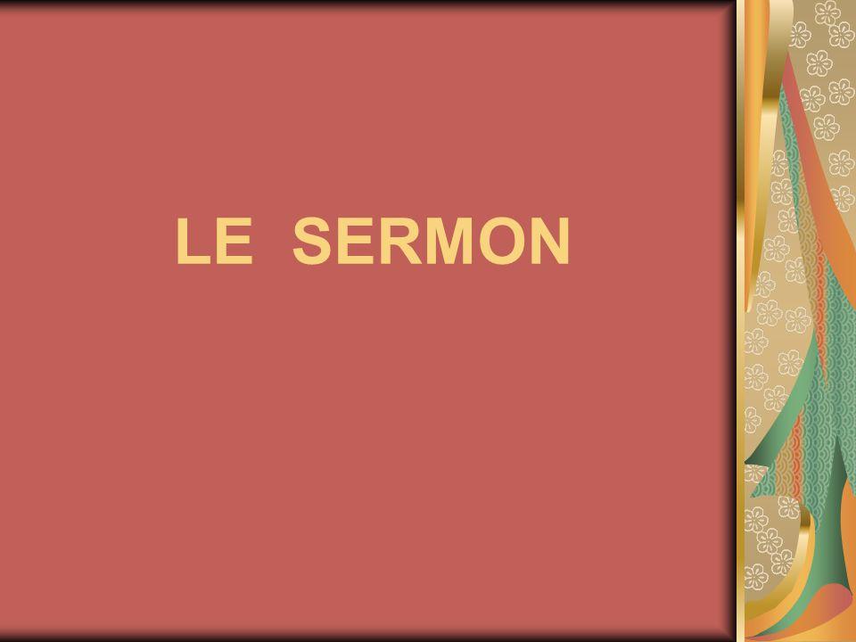 LE SERMON