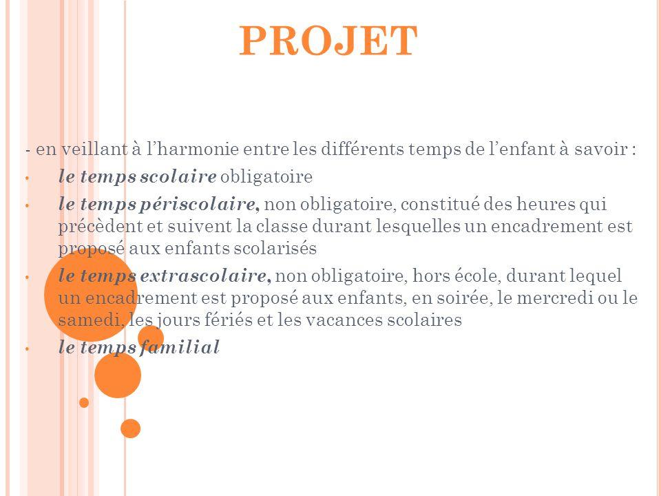 La CCPB en mars 2013 propose : Son implication pour monter un dossier afin de créer un Plan Educatif De Territoire (PEDT).