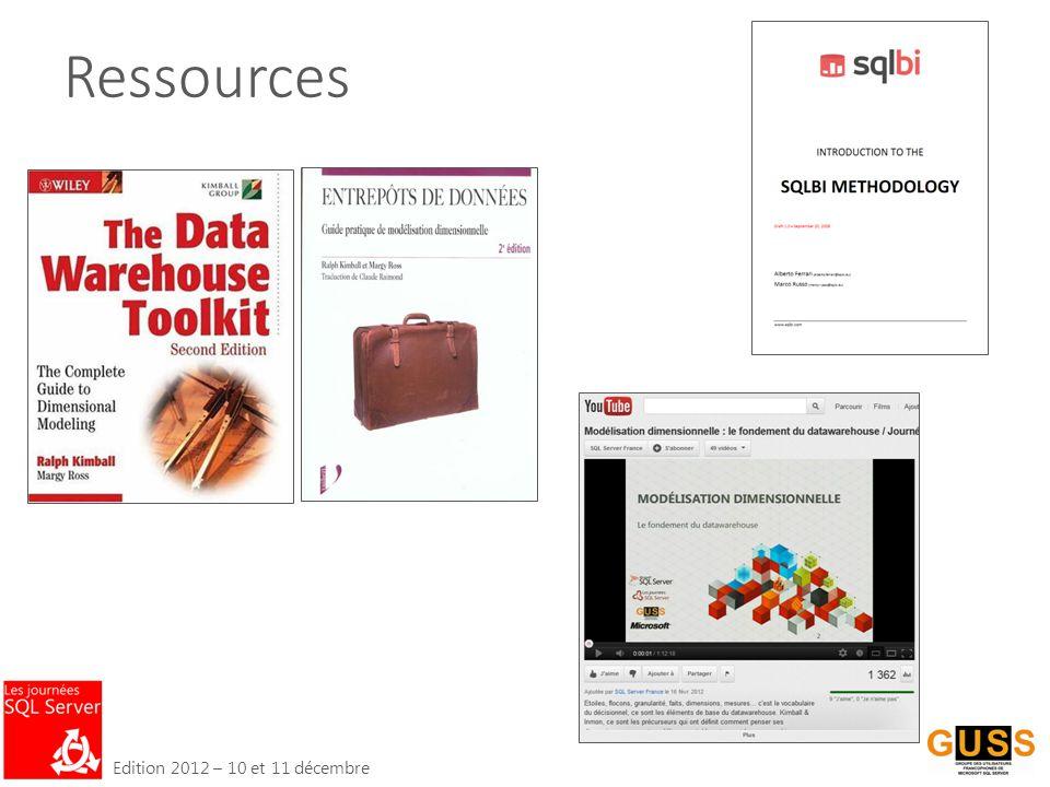 Edition 2012 – 10 et 11 décembre Ressources