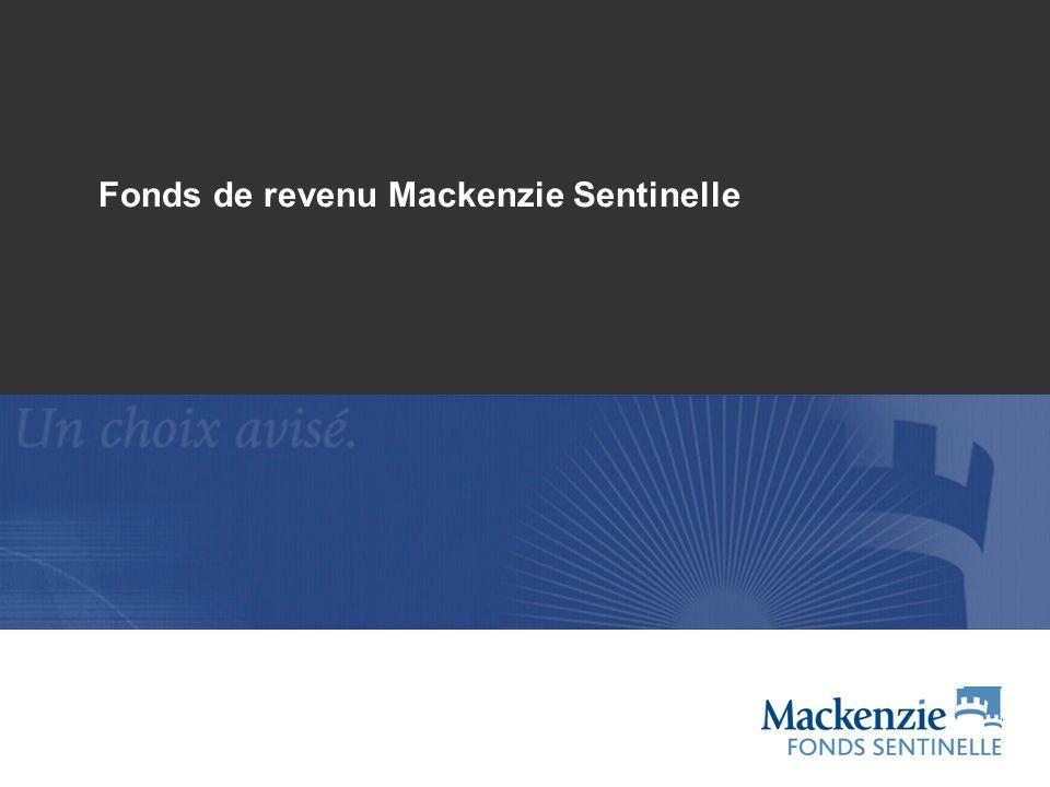 12 Fonds de revenu Mackenzie Sentinelle, série A Depuis le lancement Rendement positif 29 années civiles sur 34 -20 % -10 % 0 % 10 % 20 % 30 % 40 % 1975197619771978197919801981198219831984198519861987198819891990199119921993199419951996199719981999200020012002200320042005200620072008 Source : Morningstar et Datastream, au 30 juin 2009 CUM1 an3 ans5 ans10 ans20 ans Écart-type sur 10 ans Revenu Sentinelle5,8 %-2,8 %1,4 %3,3 %5,6 %6,9 %4,9 % Indice Globe des titres à revenu fixe canadiens homologues 5,0 %-2,4 %1,5 %2,8 %3,9 %6,8 %4,5 % S&P/TSX17,6 %-25,7 %-0,9 %6,6 %6,2 %7,7 %16,6 % Indice obligataire universel DEX 2,8 %7,0 %5,6 %6,2 %5,9 %8,4 %1,8 %