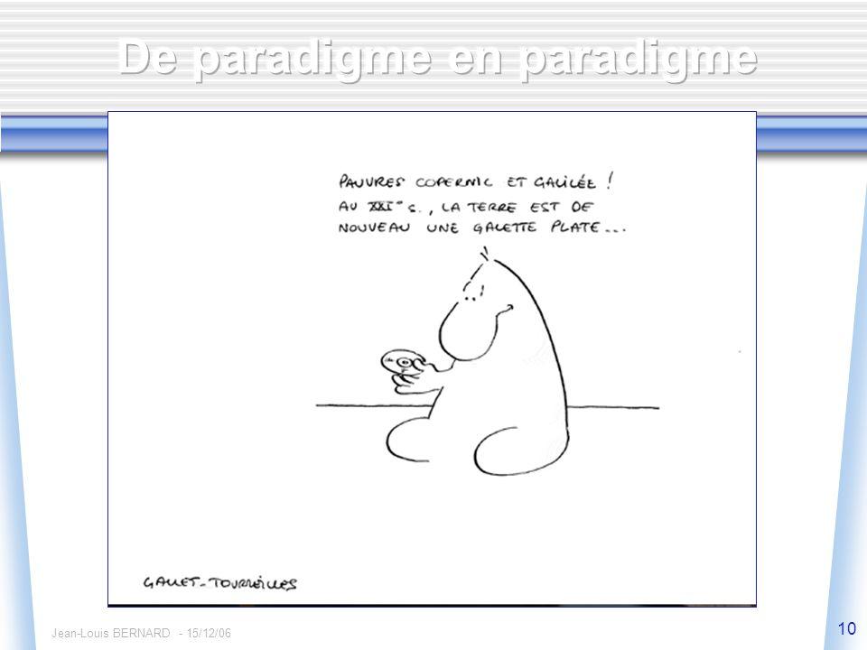 Jean-Louis BERNARD - 15/12/06 10