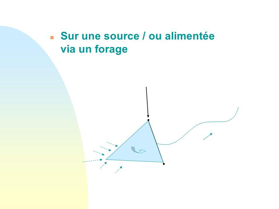 I- Différents types de retenues n En travers des cours d'eau : endiguement direct Environ 2000 dans le seul département du Rhône (recensement DDT)