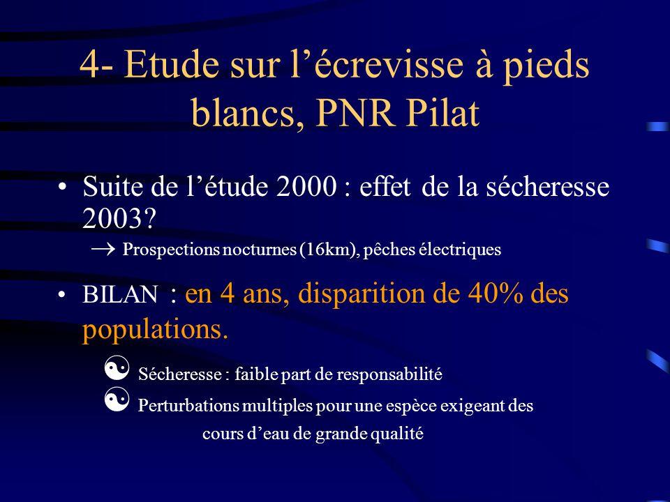 3- Étude piscicole de la Saône Effets de la végétalisation d'enrochement sur la faune piscicole.