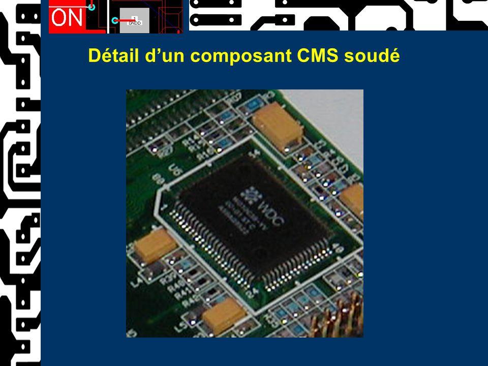 Détail d'un composant CMS soudé