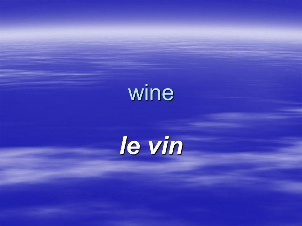 wine le vin