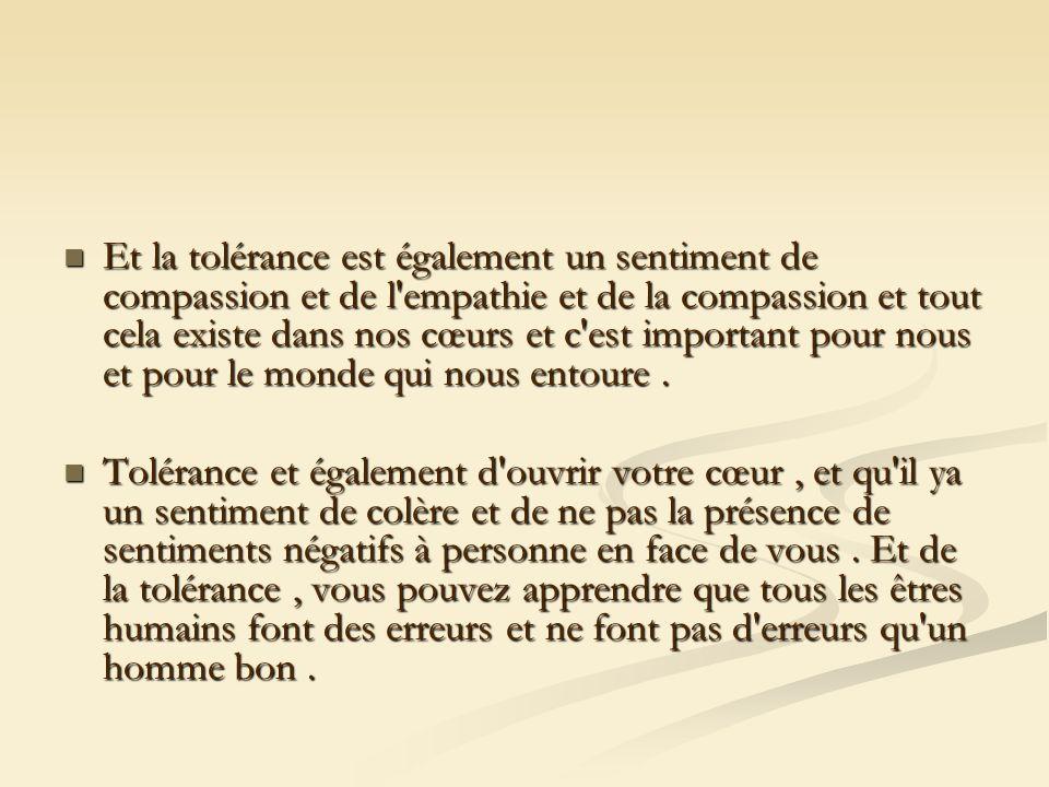 Et de la tolérance dans la langue, c est aussi la clémence Et de la tolérance dans la langue, c est aussi la clémence Vbaltsameh être la moitié d entre vous le bonheur.