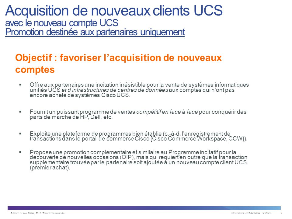 © Cisco ou ses filiales, 2012. Tous droits réservés.