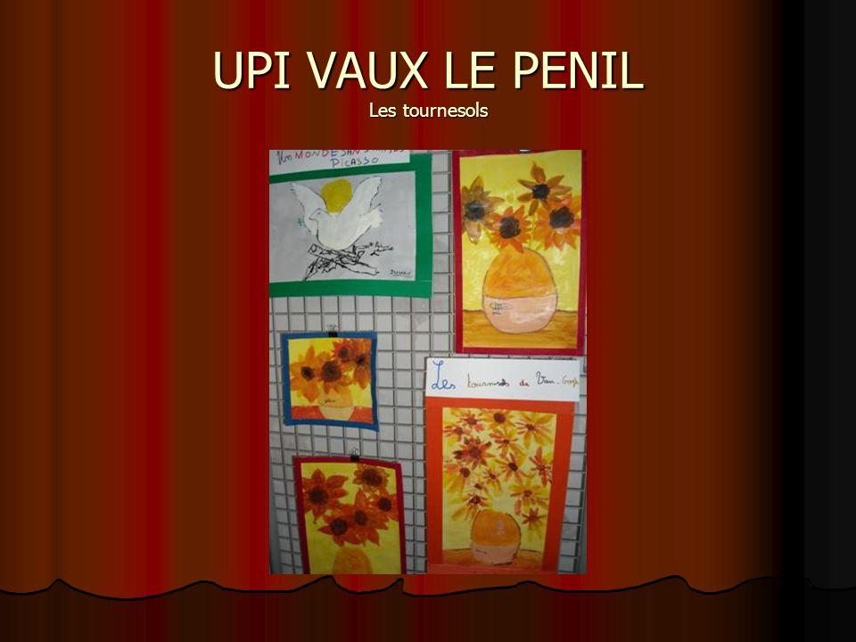 UPI VAUX LE PENIL Les tournesols