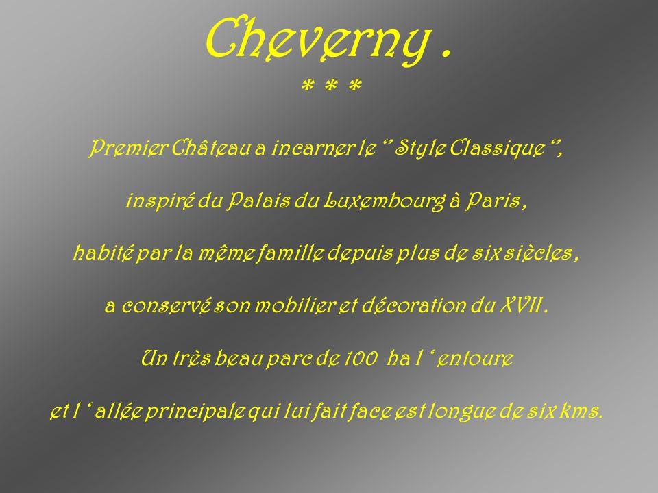 Cheverny.