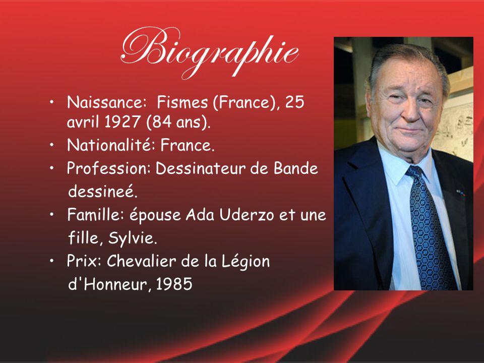 Biographie Naissance: Fismes (France), 25 avril 1927 (84 ans).