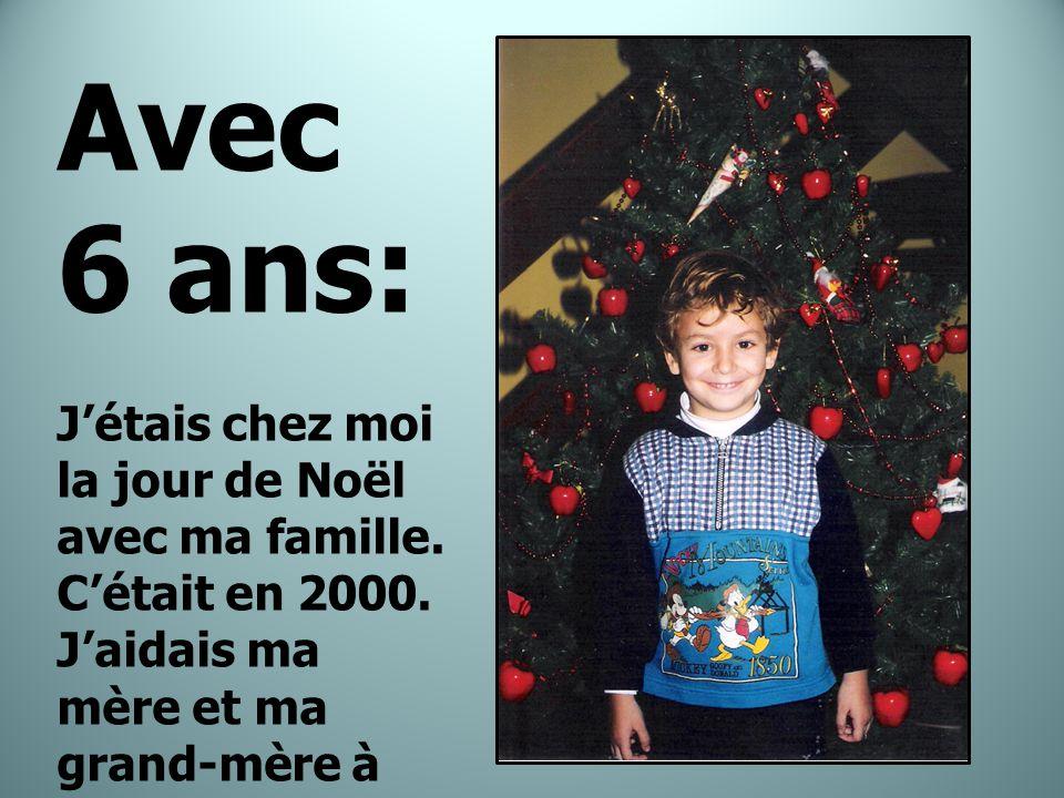 Avec 8 ans: C'était en 2003.