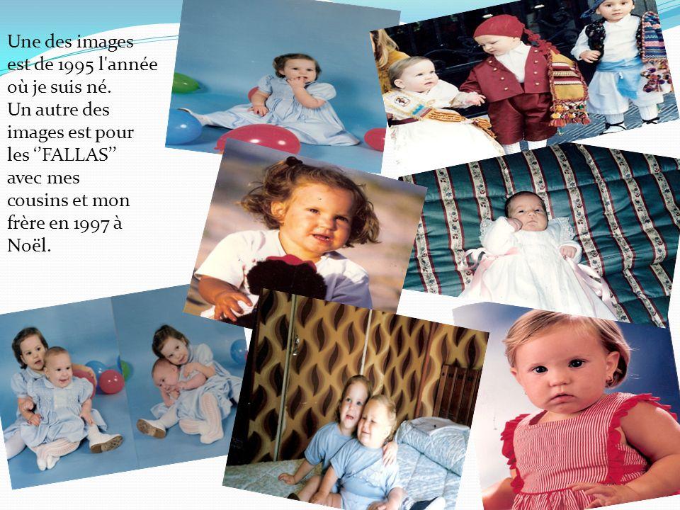 La première image est de 1997, au cours de la période de Pâques.
