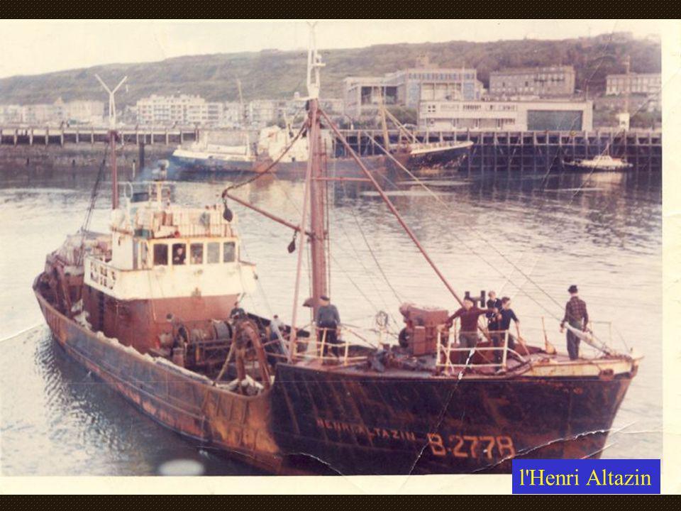 """Le """"Henri Altazin"""" B2778 et U.S. North Atlantic années 50"""