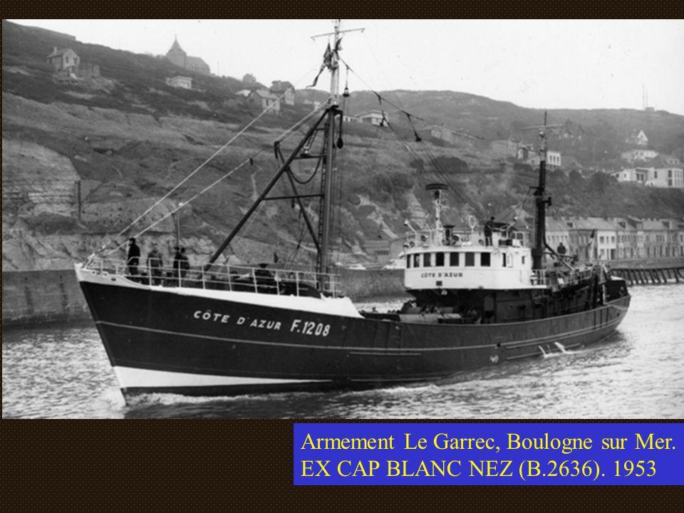 Le B2636 « Cap Blanc Nez », Armement Le Garrec