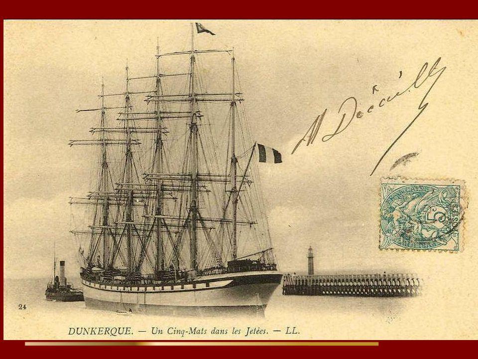 Le France II, bateau fantôme abandonné par son équipage après une tempête ???..... En 1901, lors d'une traversée vers Valparaiso, avec une cargaison d