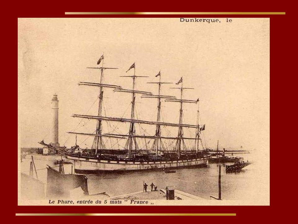 L. Le France II servait à la compagnie dunkerquoise comme cargo entre l'Europe et le Chili. Lors de son premier voyage, il a transporté 5.000 tonnes d
