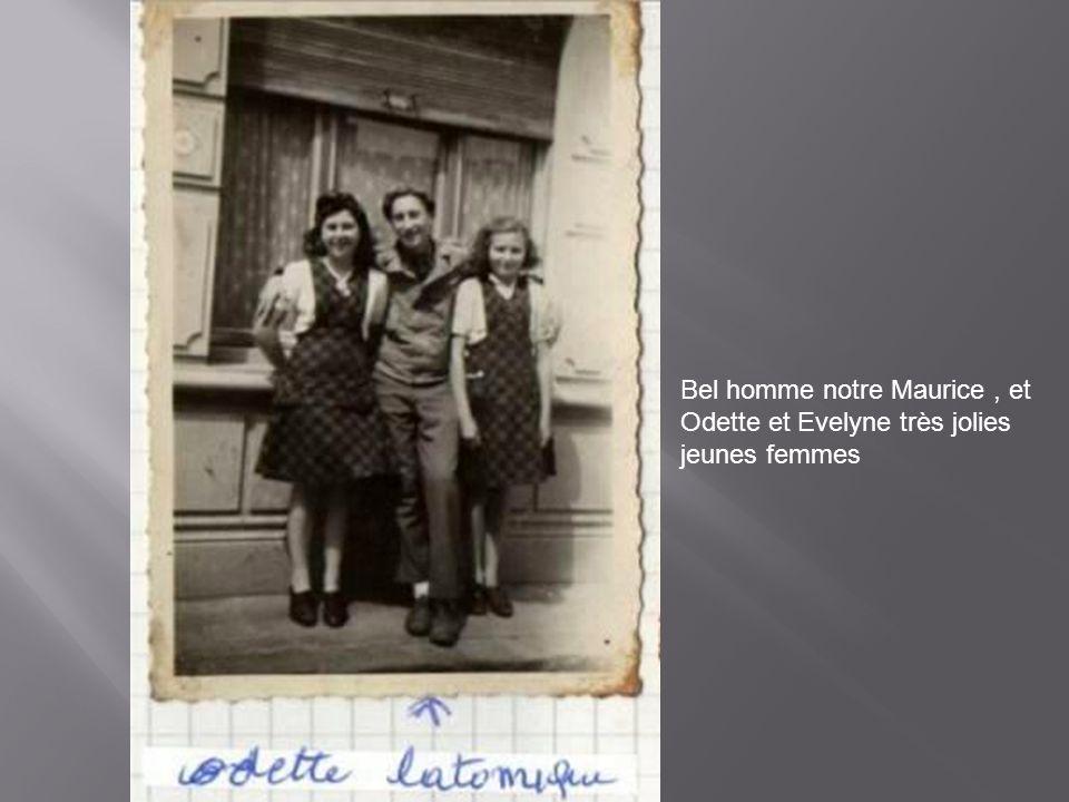 A gauche jean wadoux, au centre Pierre ou marcel Agneray et joseph Agneray