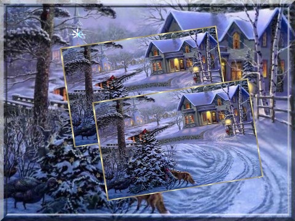C'est une belle nuit de noël,où enfants et parents Se préparent joyeusement à la venue de l'enfant Jésus Et à fêter,comme il se doit cette naissance.