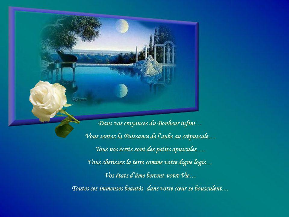 Jalet L'Univers de votre Ciel bleui…