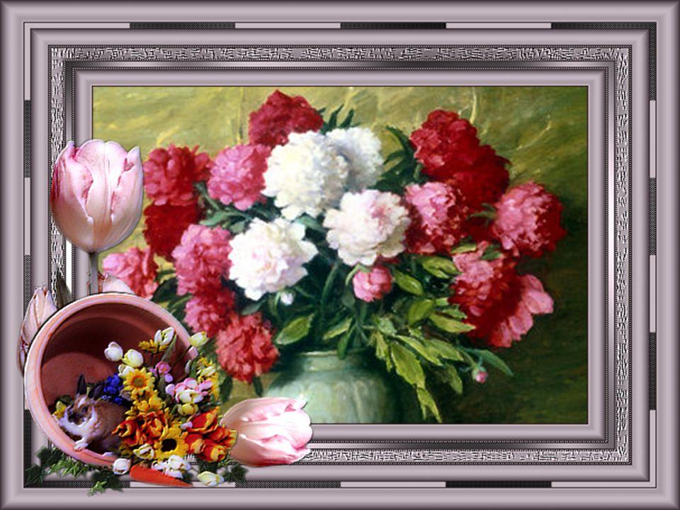 Elles viennent en visite Pour montrer qu'on existe, Elles consolent ceux qui pleurent Et fleurissent ceux qui meurent... Les fleurs