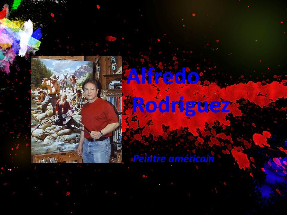 Alfredo Rodriguez Peintre américain