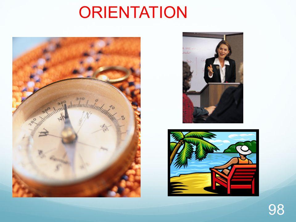 98 ORIENTATION